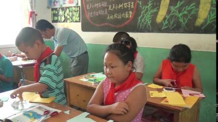 《8.折纸动物》教学视频实录-冀美版小学美术二年级下册