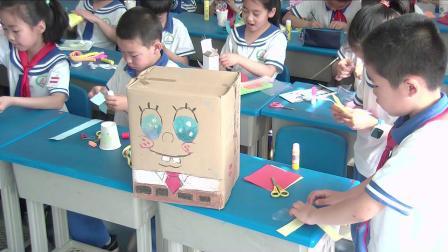 《9.纸条小玩具》优质课教学视频实录-冀美版小学美术二年级下册