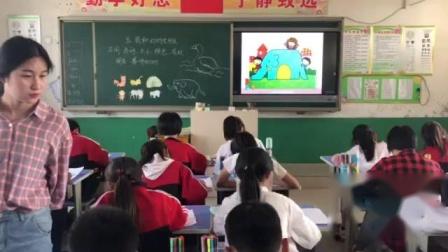 《5.我和动物交朋友》课堂教学视频-冀美版小学美术四年级上册