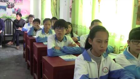 《水族馆》课堂教学视频实录-西南师大版初中音乐七年级上册