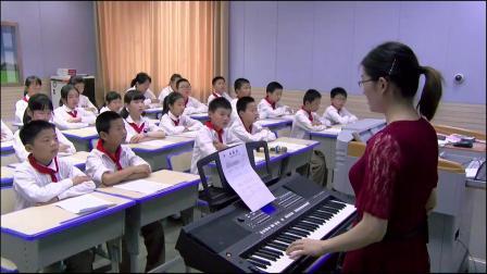 《雨花石》优质课评比视频-西南师大版小学音乐五年级下册