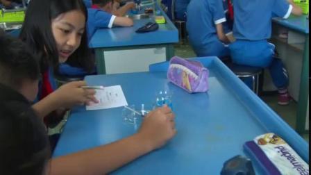 《化学变化伴随的现象》优质课课堂展示视频-教科2001版小学科学五年级下册
