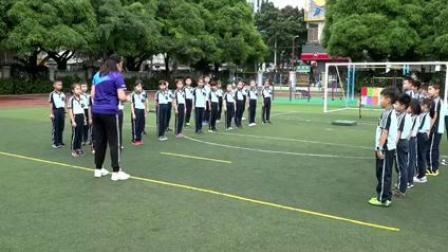 《12.-3跳跃:立定跳远》优质课课堂展示视频-科学2011版小学体育三年级第一学期