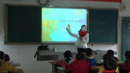 《Module 1 Greetings Unit 1 Hello! Sing along》课堂教学视频实录-教科2011版小学英语三年级上册