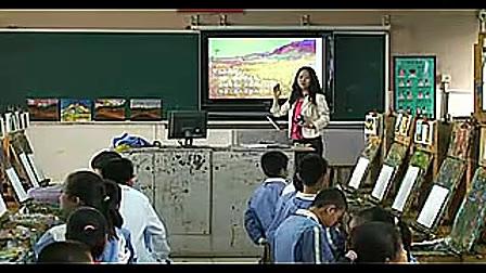 小学六年级艺术《金黄色的燃烧》温廉-小学美术课堂教学研讨优质课视频