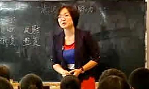 八年级美术优质课展示《点与线的魅力》王老师