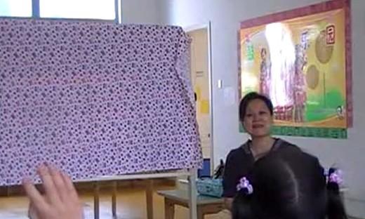 幼儿园小班优质课《辨认白天、晚上》教学视频