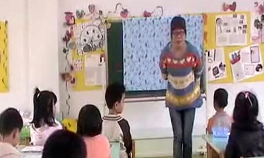 幼儿园中班数学《排序》教学视频