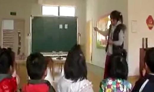 幼儿园中班公开课《目测计数》教学视频