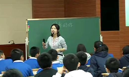 湘教版初中七年级美术示范课例《画画你我他》优质课视频...