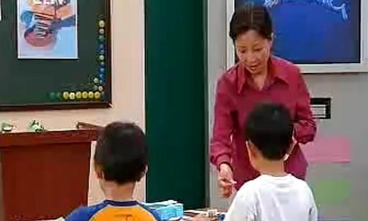 《会动的小纸人》小学一年级美术上册优质课教学视频