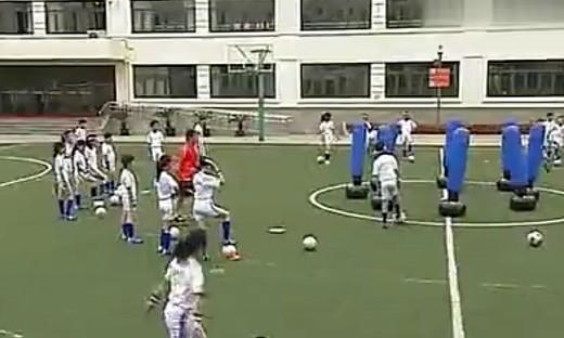 第五届全国小学体育教学观摩课《小足球》(二)...