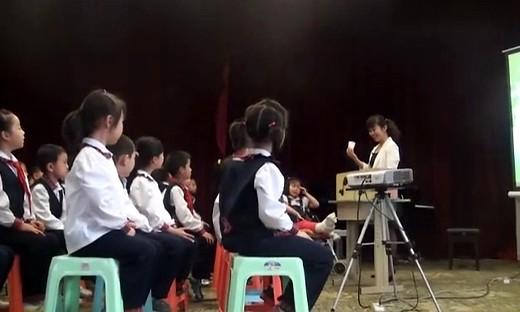 《唢呐配喇叭》小学音乐二年级教学视频_侯欣欣