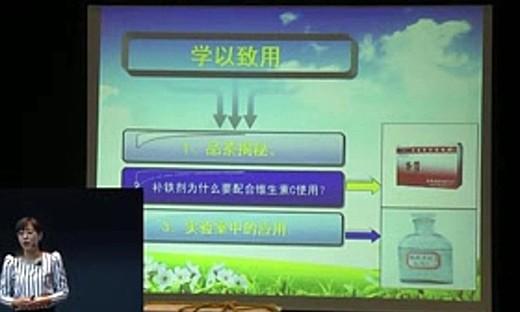 2014年全国高中化学说课大赛《铁的氧化性或还原性》赵娟娟