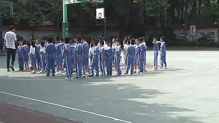 《趣味游戏》小学一年级体育优质课视频-莲花小学晏鹏程