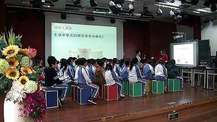小学三年级心理辅导《当愤怒来敲门》优质课教学视频-陈俊荣