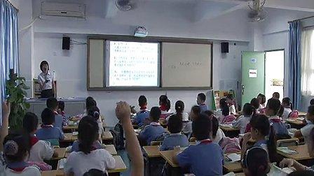 小学三年级语文《花钟》优质课教学视频-柯莲娣