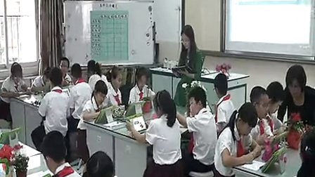 小学四年级澳门威尼斯人网址《各种各样的花》优质课视频-江思萍