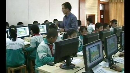 山东省小学信息技术优质课评比《给幻灯片加上动画效果》教学视频