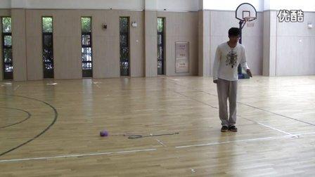 小学体育教师招考试讲模拟上课视频 垒球掷远-五年级