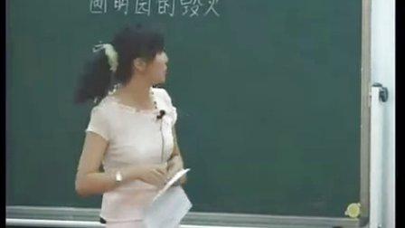 《圆明园的毁灭》语文教学视频,赵雁,首届全国中小学公开课电视展示活动一等奖