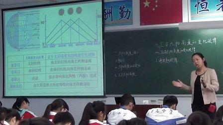 2015四川���|�n《正午太�高度的�化�律》人教版高一地理,自�市蜀光中�W:�u年敏