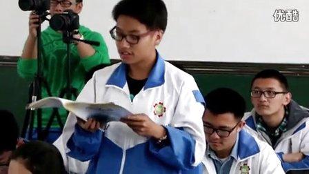 2014年全国一师一优课高中语文必修2《短歌行》教学视频,宁夏