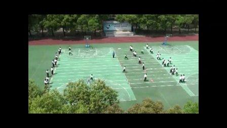 初中八年级体育《接力跑》教学视频,高中体育名师工作室教学视频