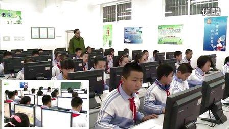 山东版信息技术六年级下册《网页美化师》教学视频,马晓原