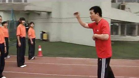 八年级体育教学视频《途中跑》体育名师工作室教学视频