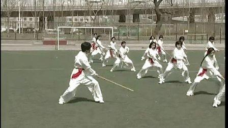 七年级体育教学视频《健身短棍》体育名师工作室教学视频