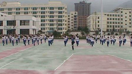 高中体育《武术――五步拳》甘肃省,2014学年度部级优课评选入围优质课教学视频