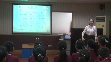 人音版音乐六下第3课《滑雪歌》课堂教学视频实录-王琦璐