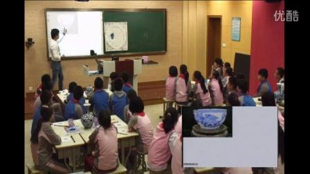 浙美版美术六下《青花瓷》课堂教学视频实录-竹沈挺