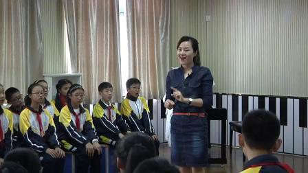 人音版音乐六下第5课《守住这一片阳光》课堂教学视频实录-滕灵静
