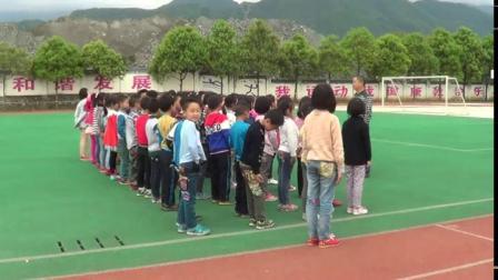《走与游戏》小学二年级体育,张洪贵