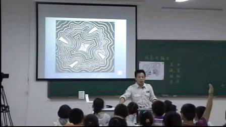浙美版小学美术四年级《线条的魅力》优质课教学视频