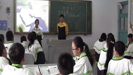 初中地理人教版七年级第一节《中东》黑龙江夏海龙