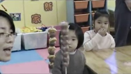 幼儿园小班美术活动:《冰糖葫芦》