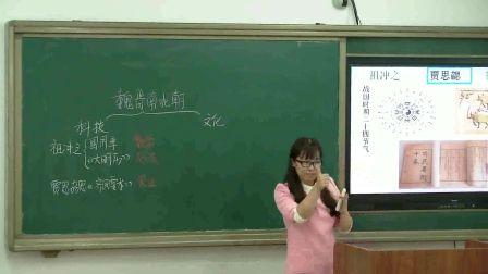 人教版新版初中�v史七上《魏�x南北朝的科技�c文化》�|���⒎�