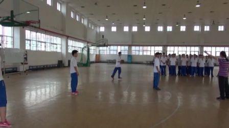 中学体育高二《篮球:三攻二》说课 北京康俊龙(北京市首届中小学青年教师教学说课大赛)