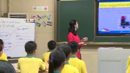 小学英语人教版六上《Unit 2 Ways to go to school》广东范巧凌