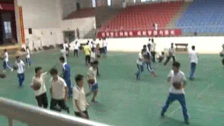 《篮球的运球与传球》高中体育-刘世春