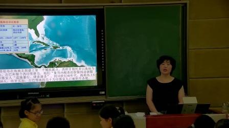 部编版初中历史七下《第15课 明朝的对外关系》湖北廖桂华