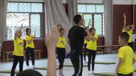 小学体育人教版三四年级《2.立定跳远分层练习》浙江周申