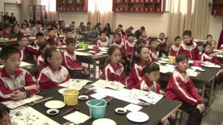 小学美术人美版四下《第6课 中国画――学画大熊猫》北京侯冰心