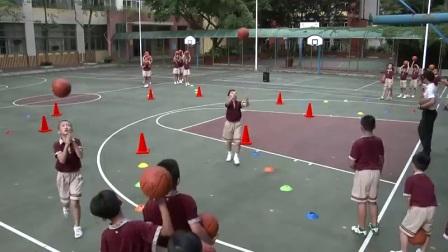 小学体育人教版三四年级《6. 发展小篮球活动能力的练习与游戏》广东郑晓山