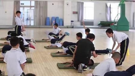 小学体育人教版三四年级《6.肩肘倒立》宁夏朱运凯