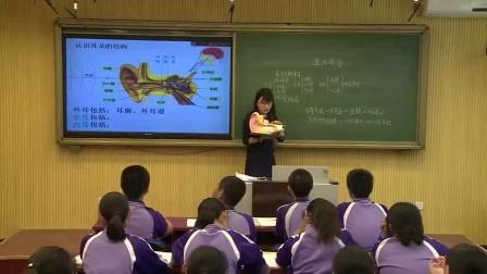 初中生物人教版七下《6.1 人体对外界环境的感知》北京  鲁广宁