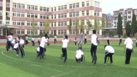 《立定跳远》优质课(人教版体育与健康小学二年级, 巴金丹)